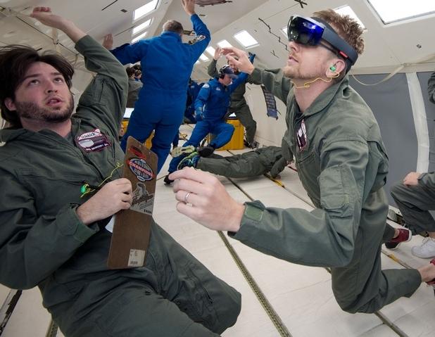 Астронавтите на МКС ще виждат анимирани холографски изображения върху реални обекти (снимка: НАСА)