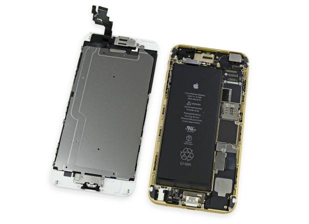 Системната платка на iPhone 6s е по-тънка и компактна от тази на iPhone 6