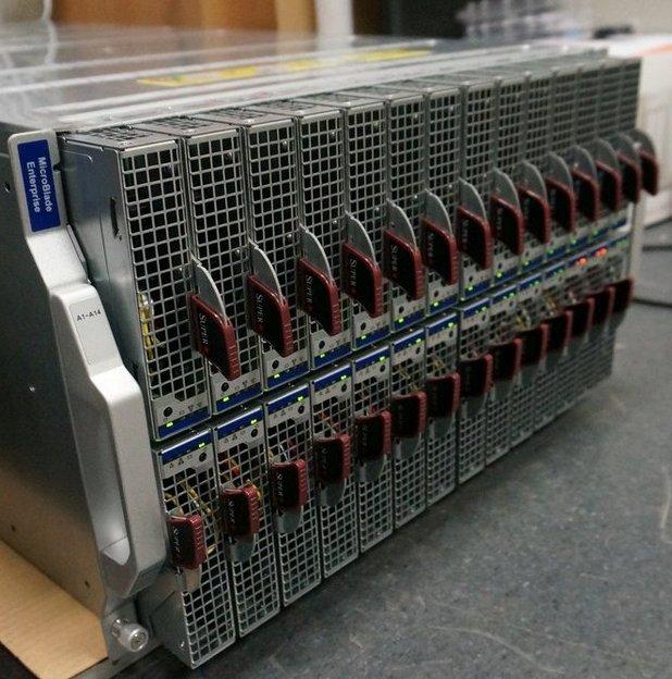 Предимство на платформата е изключителното съотношение изчислителна мощ/размер