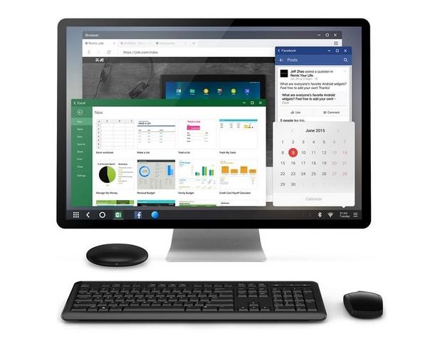 Remix Mini е първият истински персонален компютър с Android, казват от разработчика