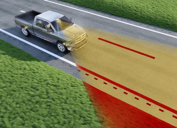 Road Departure Protection представлява вид виртуална мантинела, която предпазва автомобила и пътниците от неволно излизане извън платното