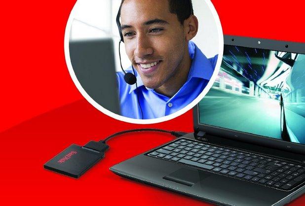 Услугата SSD Concierge помага на потребителите да направят ъпгрейд от HDD към SSD