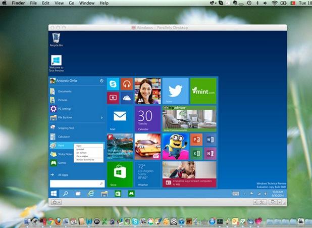 Потребителите на OS X и Linux получиха безплатно готови виртуални машини с Windows 10 и браузъра Edge