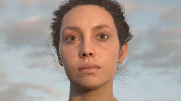 """Супер-реалистична кожа, генерирана от графичния софтуер, е на път да """"уволни"""" живите актьори от киното"""