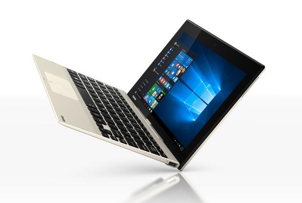 Toshiba Satellite Click 10 идва с предварително инсталирана операционна система Windows 10