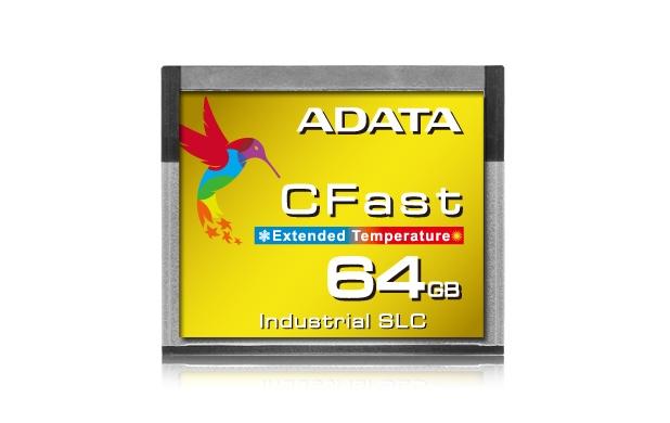 Adata ICFS332 използва бърза SLC NAND флаш памет и има MTBF (средно време между откази) от внушителните 2 милиона часа
