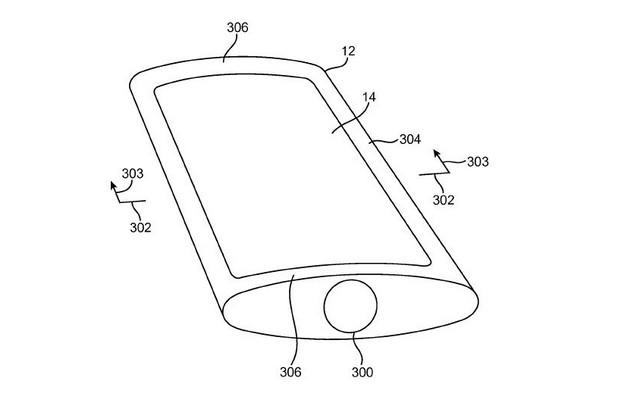 Изпъкналият дисплей на Apple може да намери приложение в мобилни устройства и носима електроника