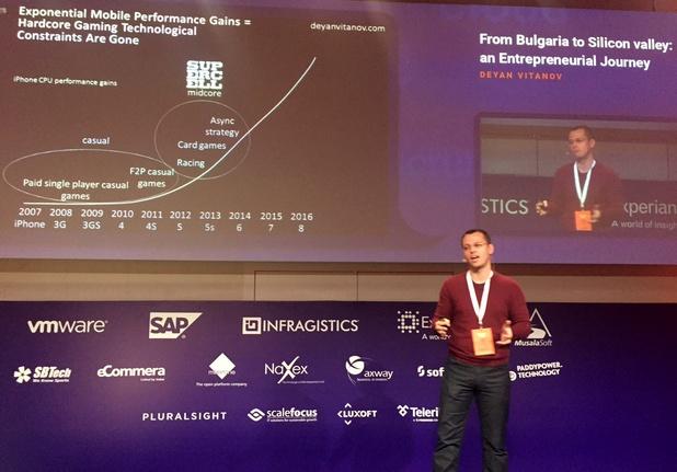 Предприемачът няма заплата – това трябва да се разбира добре, заяви Деян Витанов пред аудиторията на ISTA Con 2015