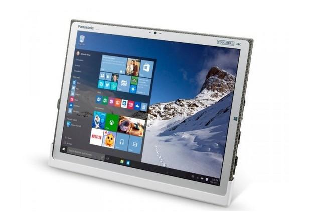 Таблетът Panasonic Toughpad 4K предоставя 20-инчов екран с ултра-висока резолюция