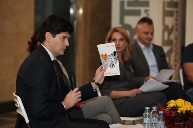 VIVACOM Регионален грант е на обща стойност 50 000 лева, като всеки проект кандидатства за финансиране до 5 000 лева (на снимката: Любен Панов, директор на Български център за нестопанско право)
