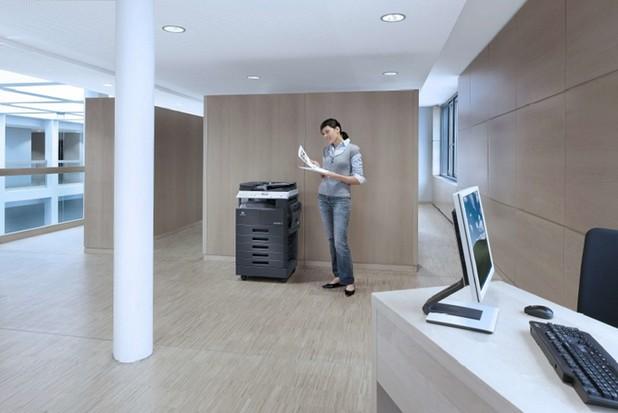 С компактните си размери, bizhub 226 лесно намира място и в най-малките офиси