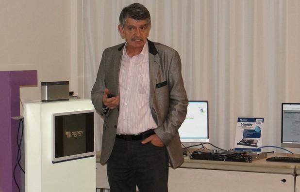 Сървърите са генерирали 73% от прихода на Перси за 2015 г., съобщи управителят на компанията Евгений Кърпачев
