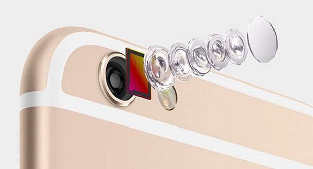 Модулът на камерата в iPhone се състои от над 200 компонента.