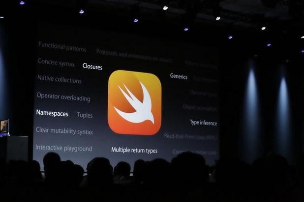 За краткото си съществуване Swift стана най-бързо развиващият се език в историята на програмирането