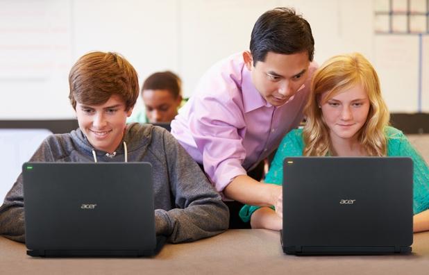 Клауд решението Acer TeachSmart позволява нови начини на комуникация в класната стая
