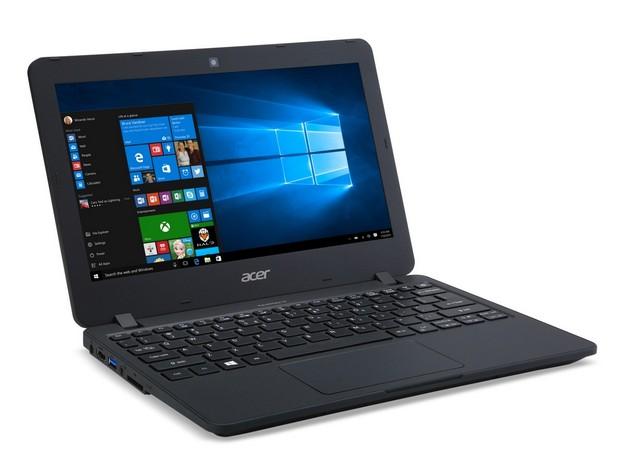 Acer TravelMate B117 предоставя 11,6-инчов екран, който може да се разтваря на 180 градуса