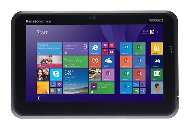 Таблетът Panasonic FZ-Q1 има екран с диагонал 12,5 инча и резолюция Full HD