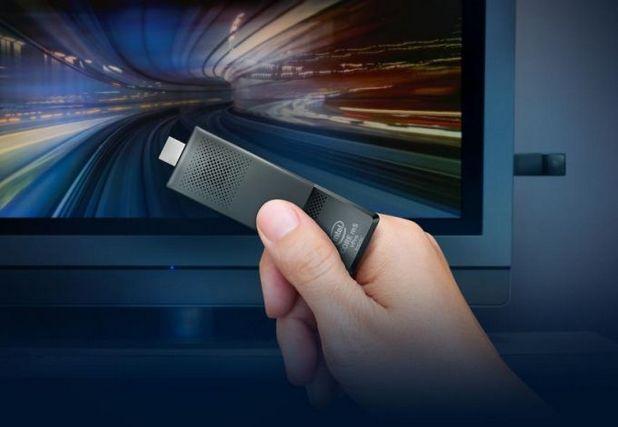 Intel Compute Stick е предназначен за използване съвместно с телевизор или монитор