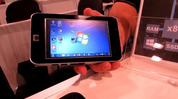 Nitro Duo има 5-инчов екран с резолюция 800х480 пиксела, две хардуерни платформи и две операционни системи