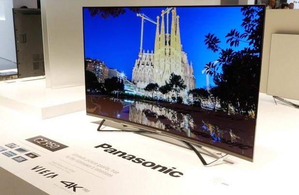 Panasonic TX-65CZ950 разполага с 65-инчов извит OLED панел и покрива 90% от цветовото пространство DCI