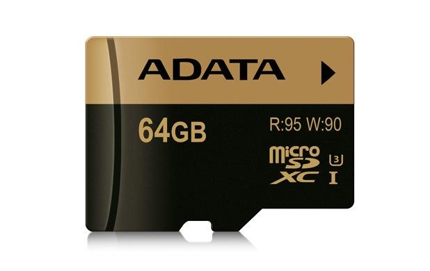 XPG microSDHC/SDXC UHS-I U3 достигат скорости на четене 95MB/s и на запис 90MB/s