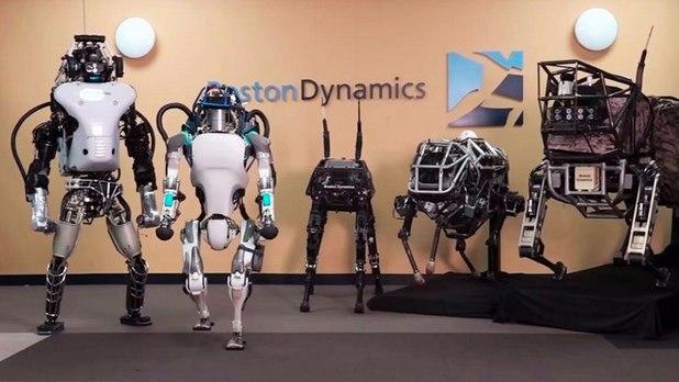 Boston Dynamics разработва човекоподобни роботи и в момента е собственост на Alphabet