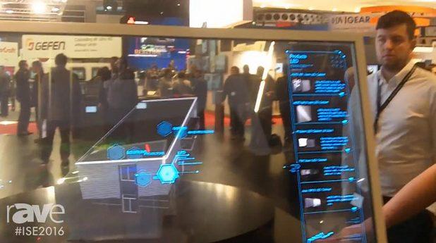 Прозрачният дисплей на Lang AG поддържа резолюция Full HD и 45% светопропускане