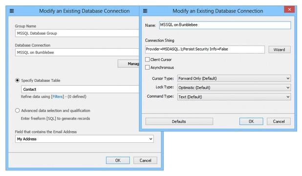 GroupMail Free Edition поддържа създаване и изпращане на е-бюлетини във формат на HTML или обикновен текст