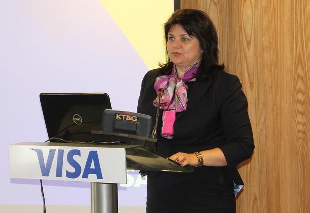 Към момента има повече от 30 000 безконтактни терминали в цялата страна, което е 37% от общия брой на терминалите, съобщи Красимира Райчева, мениджър на Visa Европа за България