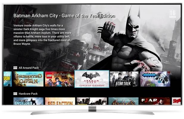 Потребителите на LG webOS телевизори ще могат да ползват премиум гейминг съдържание за конзоли на GameFly