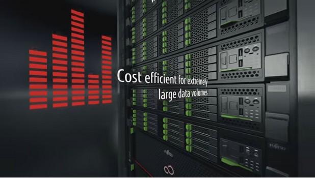 Eternus CD10000 предлага неограничена мащабируемост на капацитета и производителността
