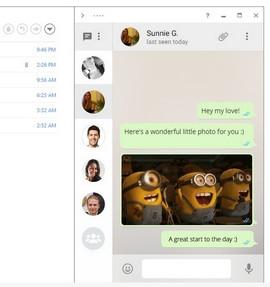 Интерфейсът на приложението е вдъхновен от Sparrow – добре известния имейл клиент на за Mac и iPhone