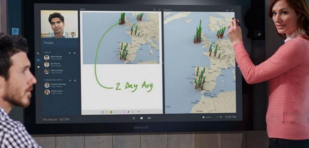 Surface Hub има потенциал да преобрази работата на бизнеса и екипите