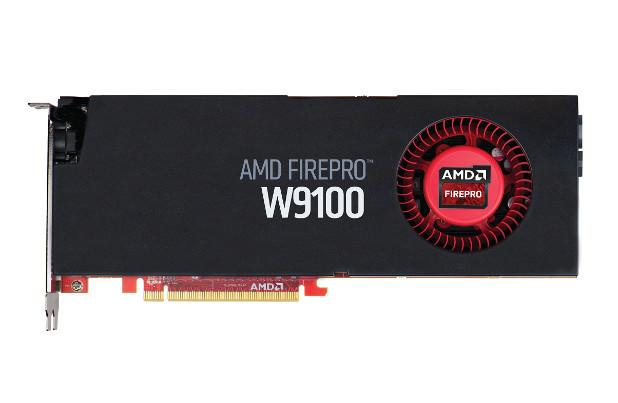 Картата AMD FirePro W9100 32GB поддържа сериозни работни товари с креативните приложения