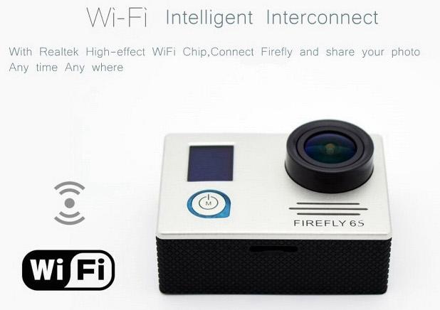 Вграденият Wi-Fi позволява прехвърляне на съдържанието към смартфон или таблет чрез приложение Firefly App