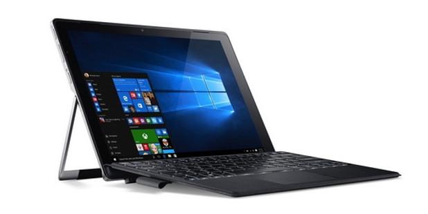 Хибридният компютър Acer Switch Alpha 12 да се преобразува лесно от таблет в ноутбук