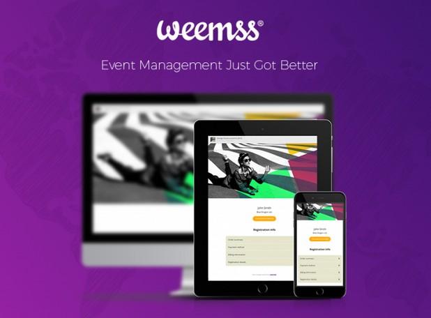 Weemss се развива като софтуер за управление на всякакъв тип събития
