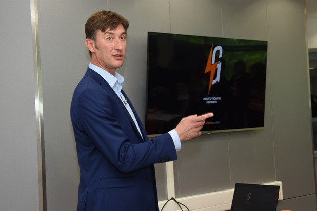 """""""Искаме да стартираме мрежата в дадено населено място тогава, когато сме осигурили пълно покритие и можем наистина да предоставим на нашите абонати високите скорости, които 4G технологията предоставя"""", коментира главният технически директор на Виваком - Радослав Златков."""