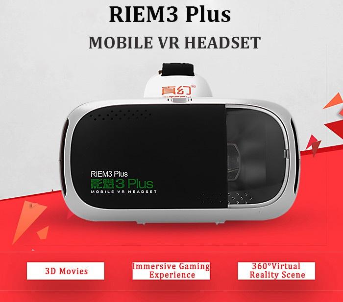 Хедсетът RIEM3 Plus тежи 290 грама и се отличава с 30% по-висока яркост от други подобни продукти