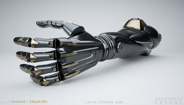 Благодарение на специална камера и софтуер, протезата може да повтори точно движението на истинска човешка ръка
