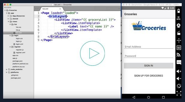 NativeScript 2.0 дава възможност на разработчиците да създават нейтив приложения за iOS и Android с Angular 2 на Google, като максимално преизползват умения и програмен код