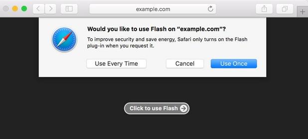 Safari е поредният браузър, който ще блокира по подразбиране плъгина Adobe Flash