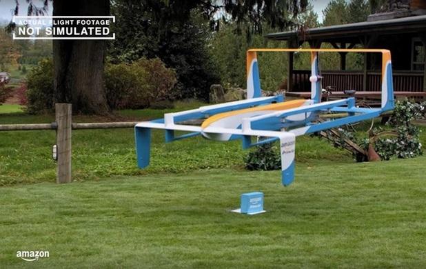 Amazon се надявя да пести разходи за доставката на стоки с помощта на дронове