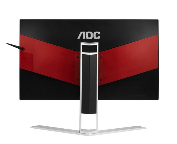Стойката AOC Ergo Dial позволява на потребителите да настройват височината на екрана според индивидуалните си нужди, вкл. височина, завъртане и накланяне