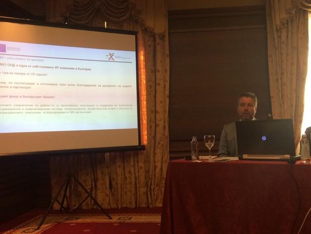 """""""Използването на SAP е гаранция за нивото на мениджмънт"""", заяви Димитър Геров, управител на Стемо София"""