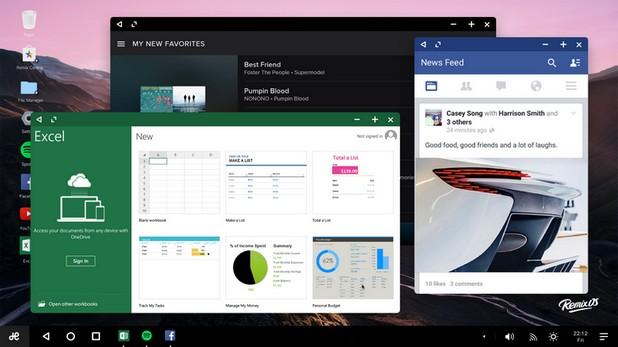 Обновление на Remix OS внася редица подобрения в десктоп платформата на база Android