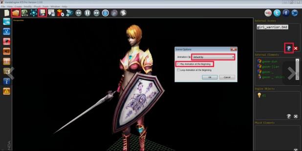 Vanda Engine позволява създаването и публикуване на видео игри и 3D съдържание