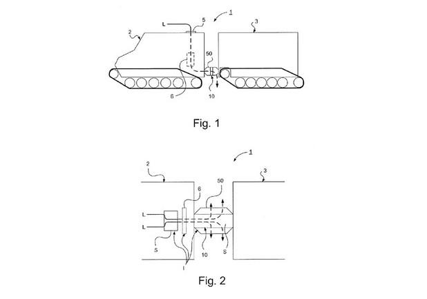 Патентът под номер 9409599 описва специален механизъм, който съединява частите на соларното возило и осигурява висока подвижност (източник: USPTO)
