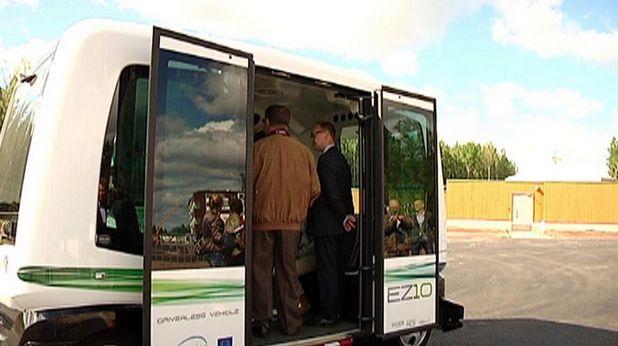 Самооправляеми автобуси вече се тестват във Финландия, в рамките на пилота програма