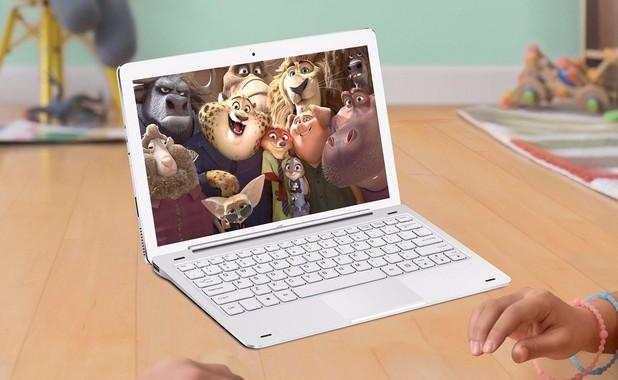 Teclast Tbook 16 Pro e хибрид с две операционни системи, който може да се ползва като таблет и ноутбук